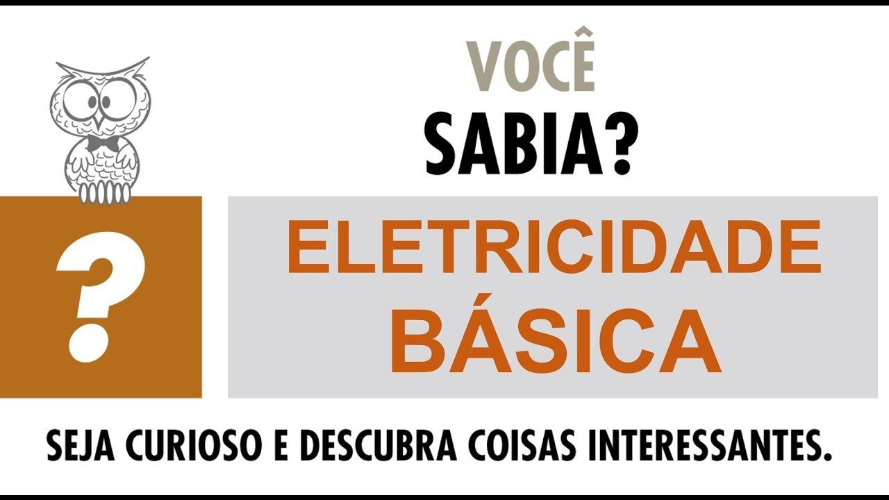 Tensão e corrente elétrica | Eletricidade básica #1