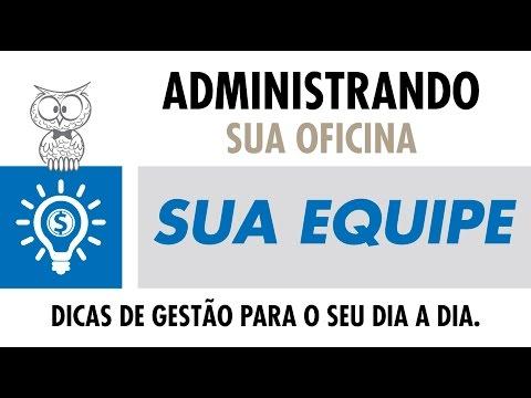 ADMINISTRANDO SUA OFICINA - Sua Equipe