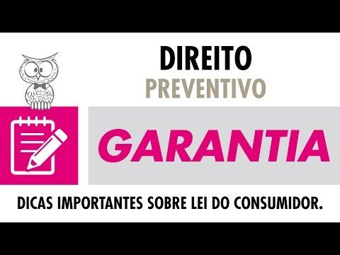CONSELHO JURIDICO - GARANTIA