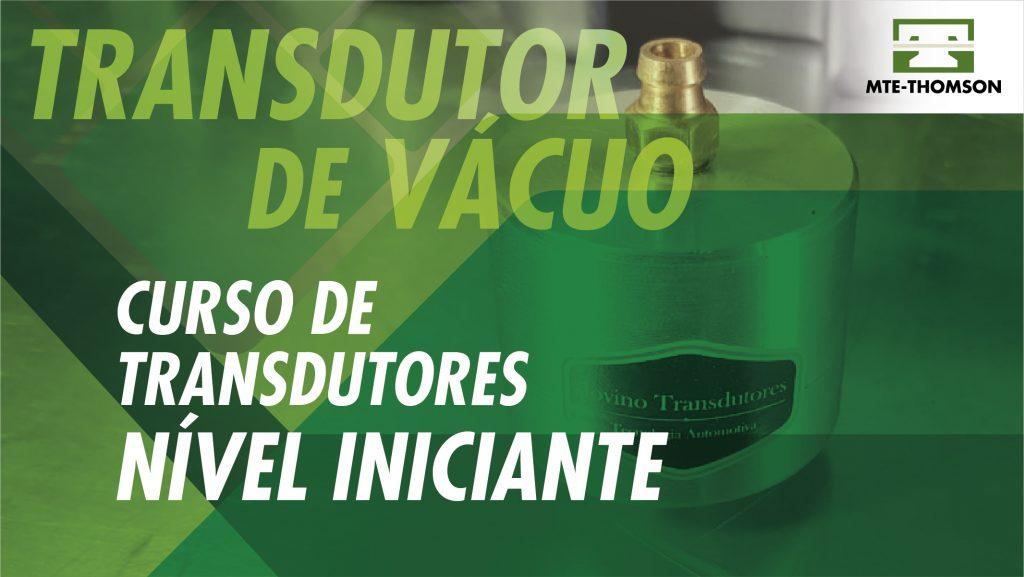 Capinha TRANSDUTOR DE VACUO