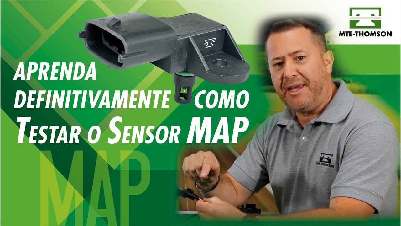 Você realmente sabe testar o SENSOR MAP Aprenda com a MTE-THOMSON!