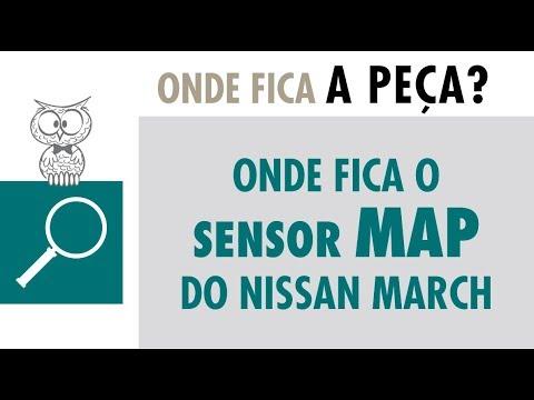 Onde Fica? Sensor MAP do Nissan March