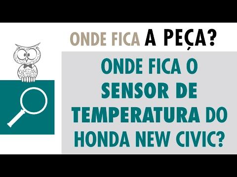 Onde Fica? Sensor de Temperatura do Honda New Civic
