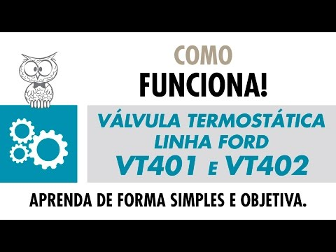 COMO FUNCIONA - Válvula Termostática Linha Ford Motor Zetec
