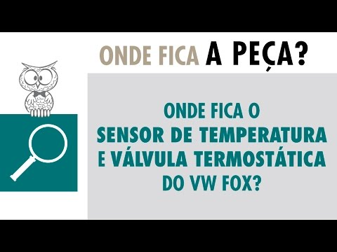 Onde fica? Válvula Termostática e Sensor do Volkswagen Fox 2016