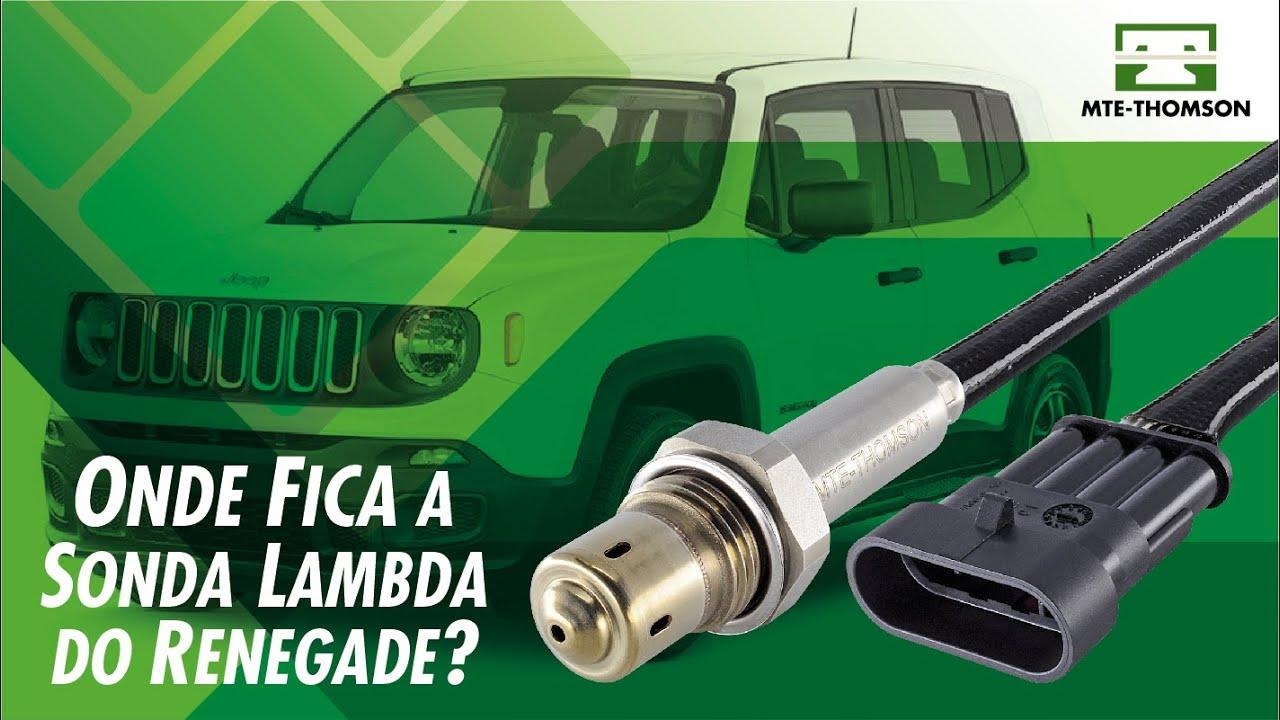 Onde Fica? Sensor de Oxigênio do Jeep Renegade