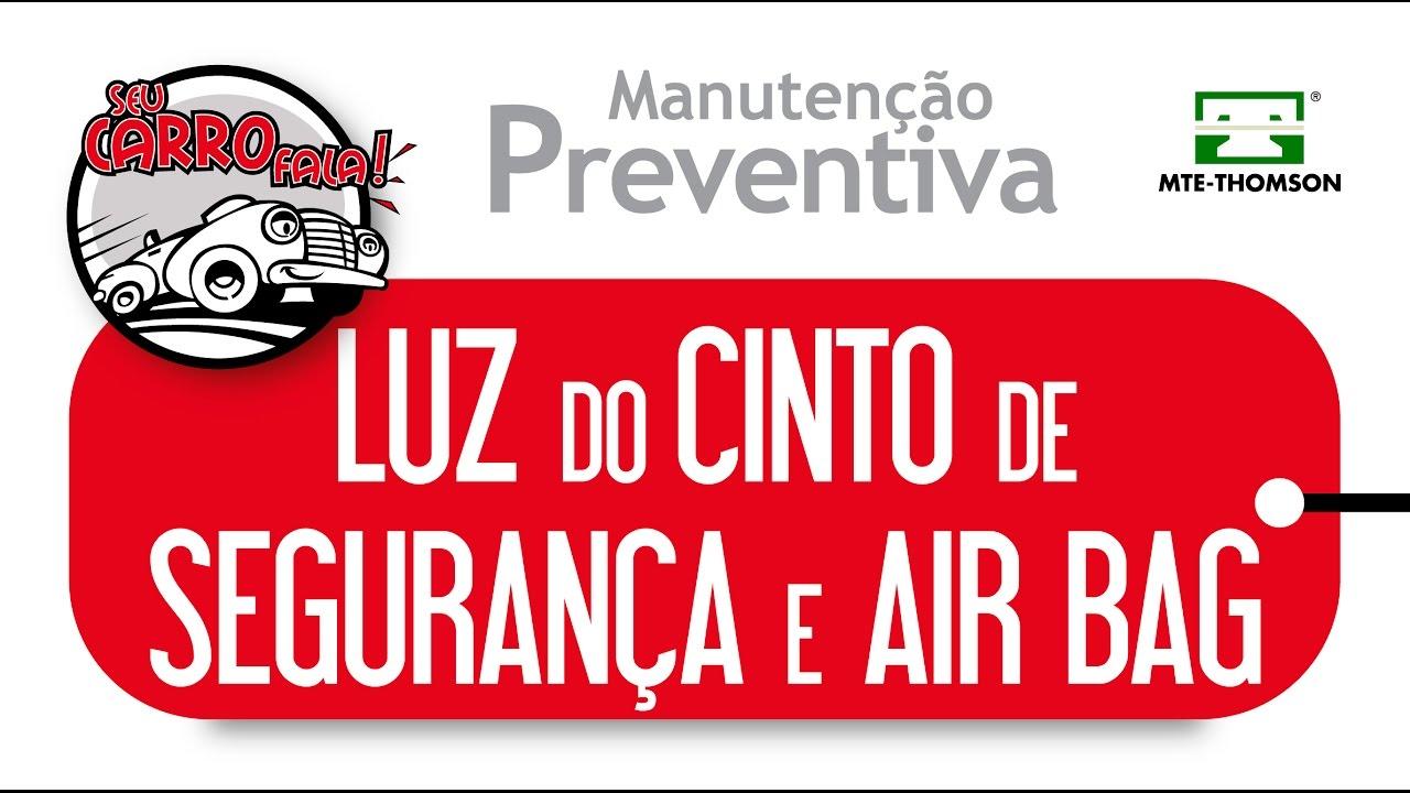 Seu Carro Fala - Luzes do Cinto de Segurança e Air Bag
