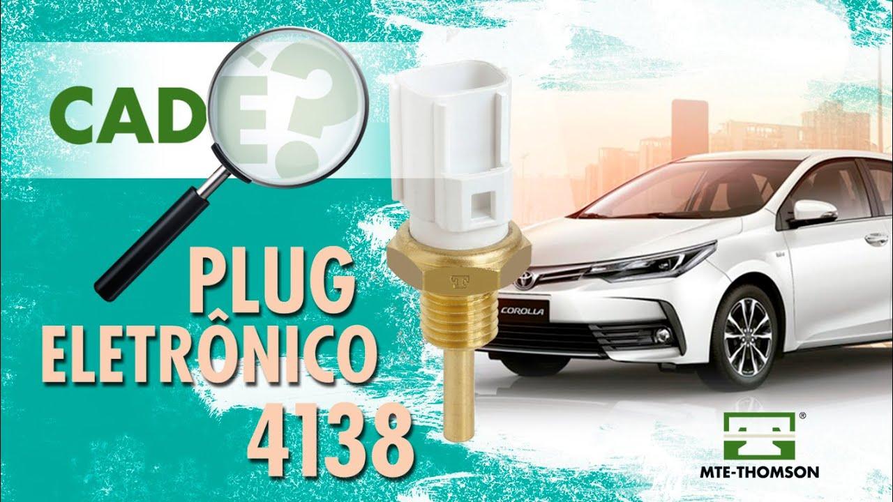 Onde fica o plug eletrônico do Toyota Corolla?